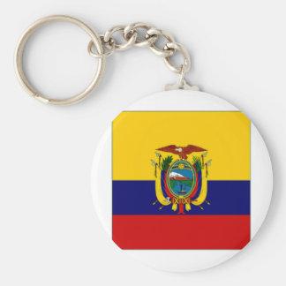 Ecuador President Flag Key Chain