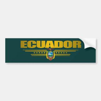 """""""Ecuador Pride"""" Bumper Sticker"""