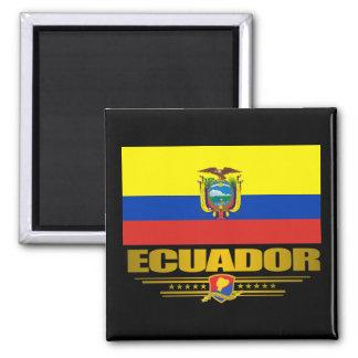 """""""Ecuador Pride"""" Square Magnet"""