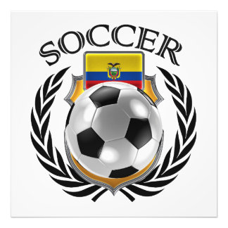 Ecuador Soccer 2016 Fan Gear Art Photo