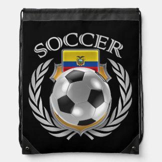 Ecuador Soccer 2016 Fan Gear Drawstring Backpacks