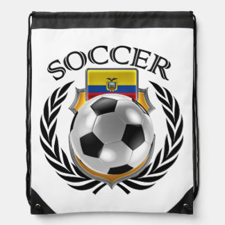 Ecuador Soccer 2016 Fan Gear Rucksacks