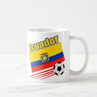 Ecuador Soccer Team Basic White Mug