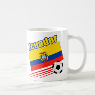 Ecuador Soccer Team Coffee Mug