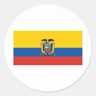 Ecuador Round Sticker