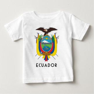 Ecuador - symbol/coat of arms/flag/colors/emblem baby T-Shirt