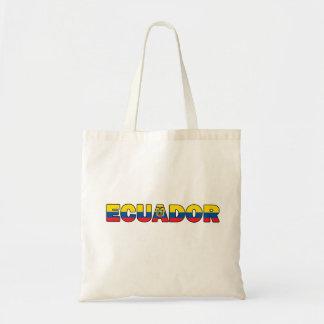 Ecuador tote bag
