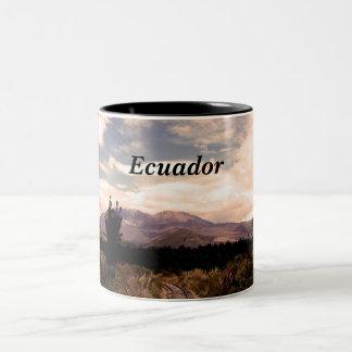 Ecuador Two-Tone Coffee Mug
