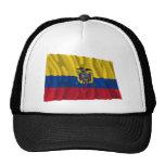 Ecuador Waving Flag Cap