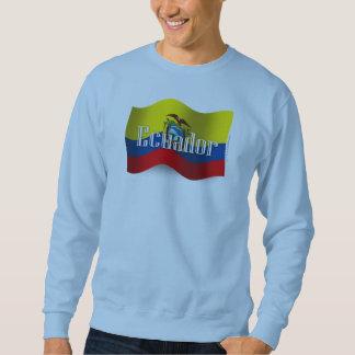 Ecuador Waving Flag Sweatshirt