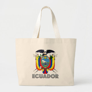 Ecuadorian Emblem Tote Bags