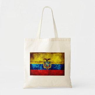 Ecuadorian Flag Tote Bags