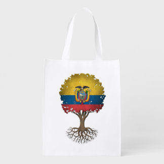 Ecuadorian Flag Tree of Life Customizable