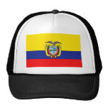 Ecuadorian Flag Trucker Hats