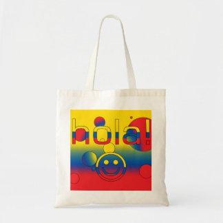 Ecuadorian Gifts : Hello / Hola + Smiley Face Bag