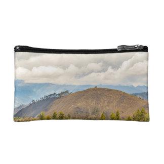 Ecuadorian Landscape at Chimborazo Province Cosmetic Bags