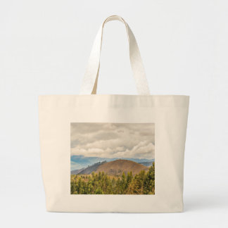 Ecuadorian Landscape at Chimborazo Province Jumbo Tote Bag