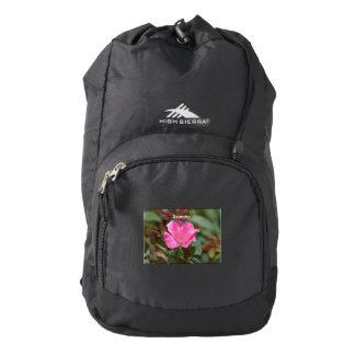 Ecuadorian Rose Backpack