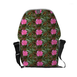 Ecuadorian Rose Messenger Bags