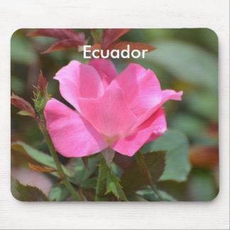 Ecuadorian Rose Mouse Pad