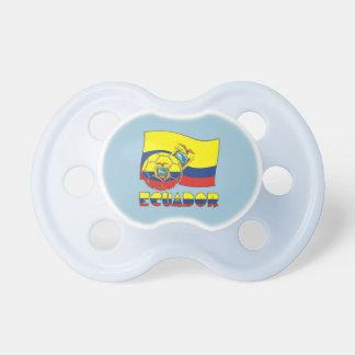 Ecuadorian Soccer Ball and Flag Dummy