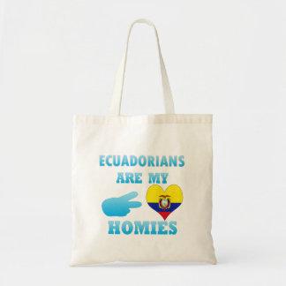 Ecuadorians are my Homies Budget Tote Bag