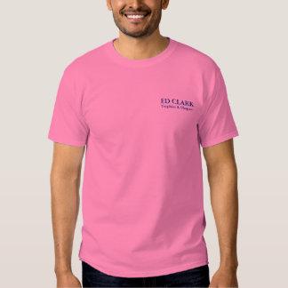 Ed Clark Trophies - Darien Pink Tshirts