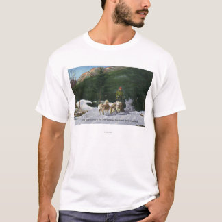 Ed Clark's Eskimo Dog Ranch, Dogsledding T-Shirt