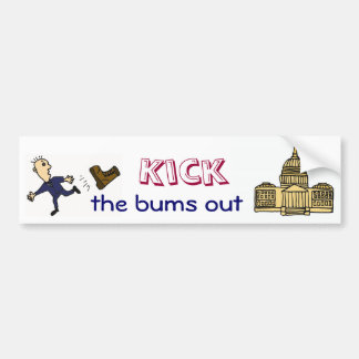 ED-  Kick  the bums out of Congress sticker Bumper Sticker