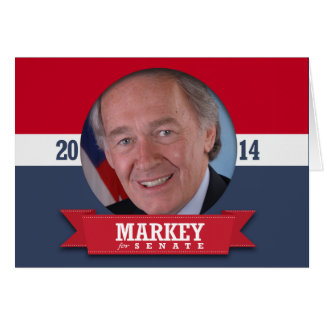 ED MARKEY CAMPAIGN GREETING CARDS