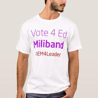 Ed Miliband 4 Leader T-Shirt