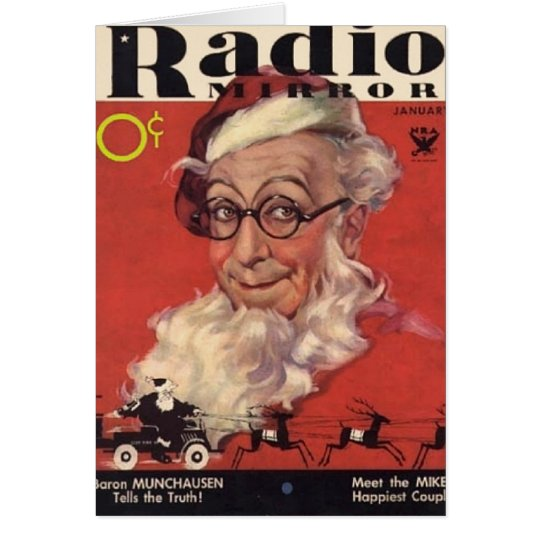 Ed Wynn Christmas Card
