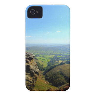 Edale valley and rocks iPhone 4 Case-Mate case