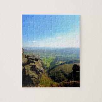 Edale valley and rocks jigsaw puzzle