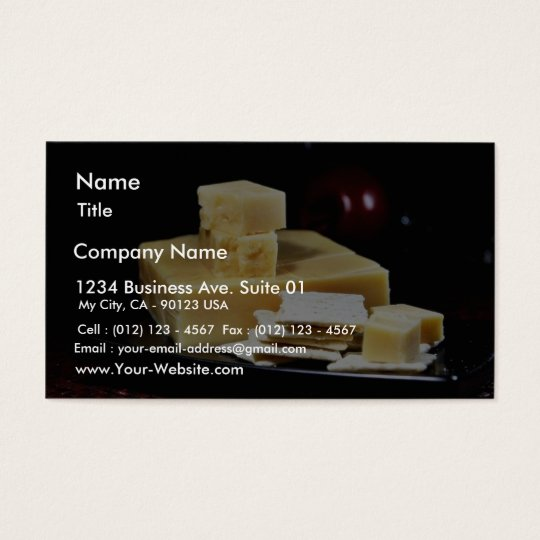Edam Cheeses Business Card