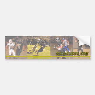 Edcouch Elsa Football bumper sticker