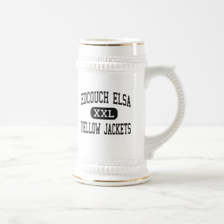 Edcouch Elsa - Yellow Jackets - High - Edcouch Beer Steins