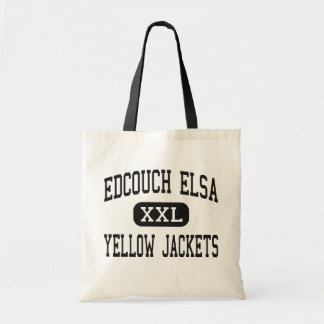 Edcouch Elsa - Yellow Jackets - High - Edcouch Canvas Bags