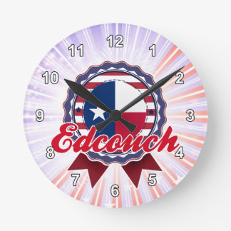 Edcouch, TX Round Clock