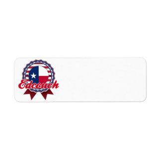 Edcouch, TX Return Address Label