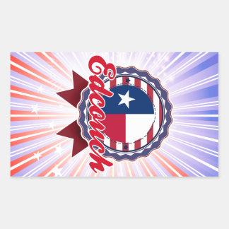 Edcouch, TX Rectangular Sticker