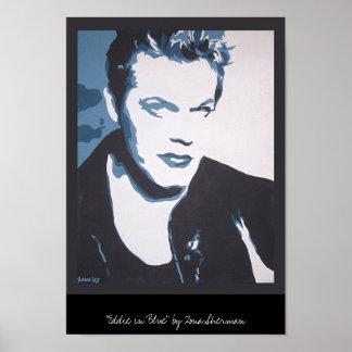 Eddie in blue poster
