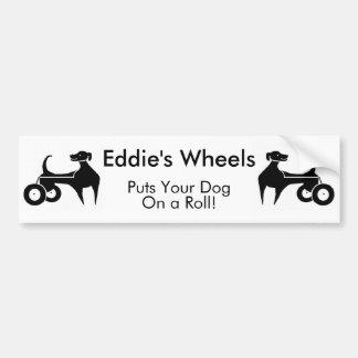 Eddie's Wheels Bumper Sticker