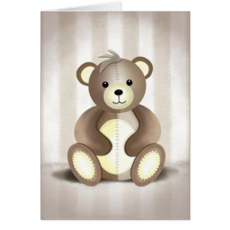 Eddy the Teddy - Greeting Card
