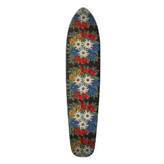 Edelweiss Alpine Flower Skateboard Deck