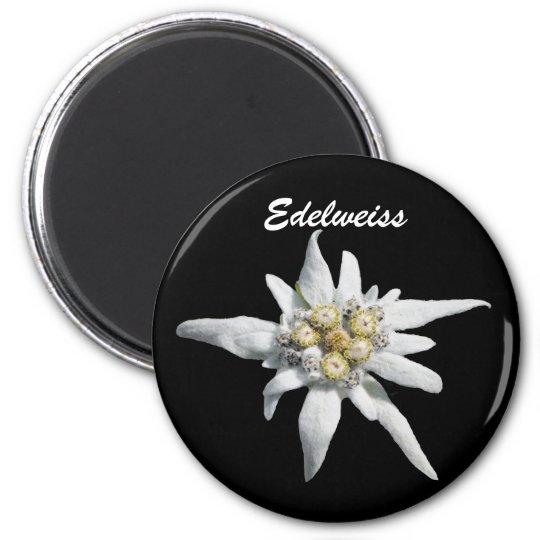 Edelweiss Flower Bloom Magnet