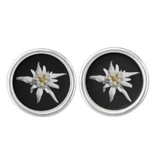 Edelweiss Flower Cuff Links