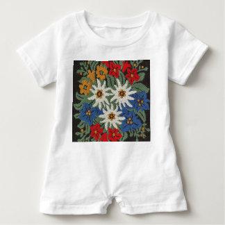 Edelweiss Swiss Alpine Flower Baby Bodysuit