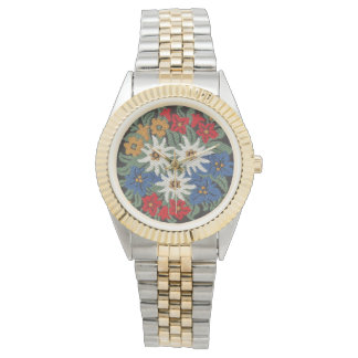 Edelweiss Swiss Alpine Flower Watch