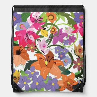 Eden, Drawstring Backpack